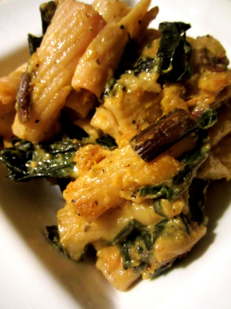 Red Swiss Chard, Butternut Squash and Bacon Mac and Cheese ...
