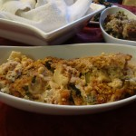 Roasted Zucchini and Cauliflower Gratin
