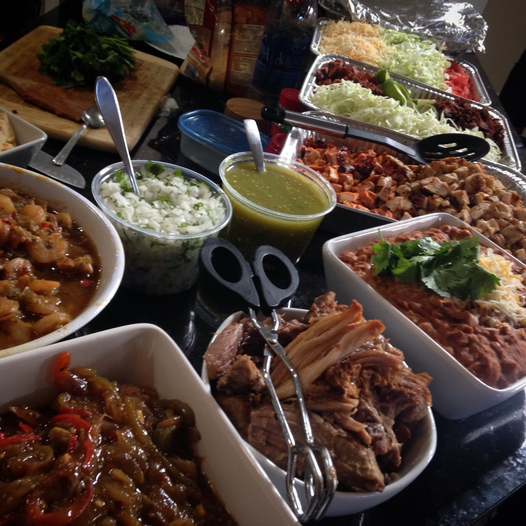 Taco Bar Spread