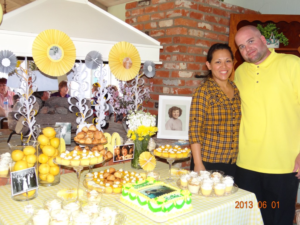 Granny S 80th Birthday Celebration And Catering